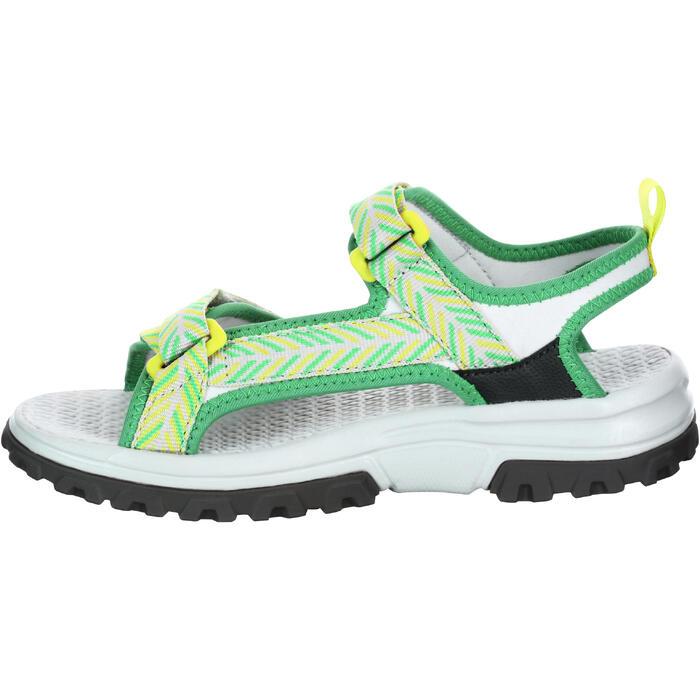 Sandale de randonnée Hike 500 fille vert