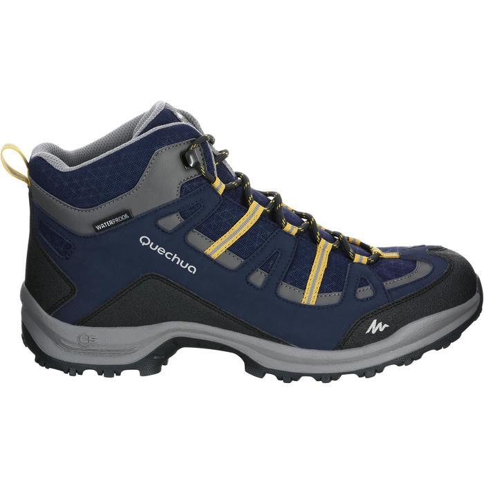 Chaussure Randonnée Quechua Arpenaz 100 Mid Homme Imperméable - 1143884