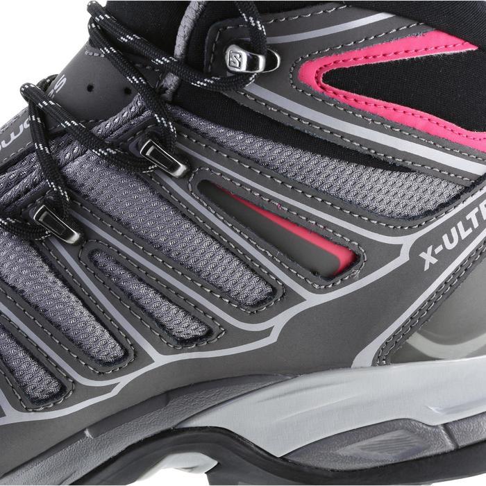 Chaussure de randonnée montagne Femme Salomon X Ultra Mid GTX Gris rose - 1143899