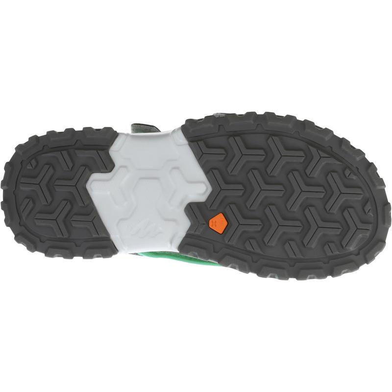 Children's hiking sandals MH120 TW yellow - JR