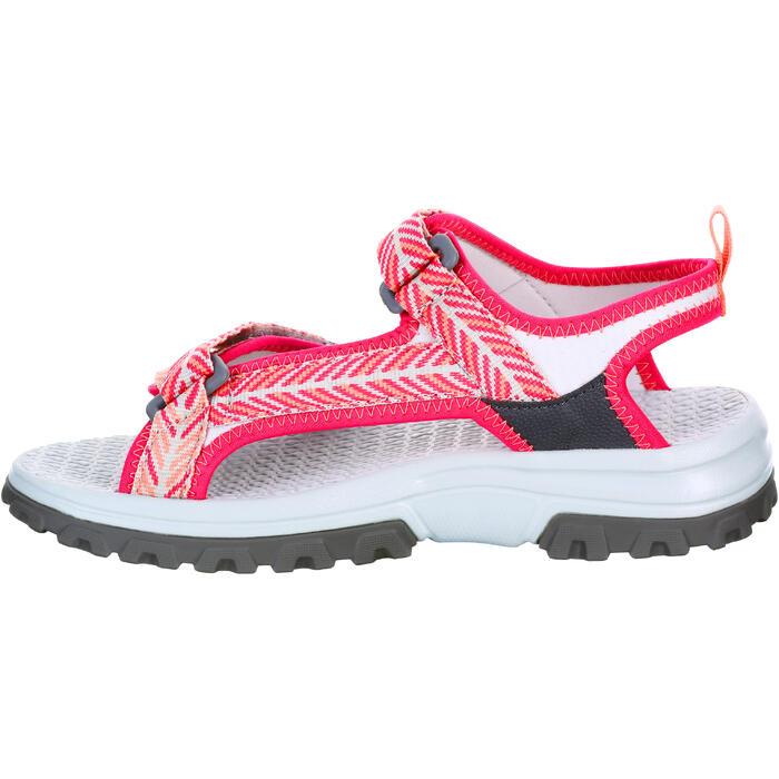 Sandalias de montaña niños NH500 JR Rosa talla 28 a 39