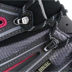 Halfhoge bergschoenen dames Salomon X Ultra GTX grijs/roze - 1143944