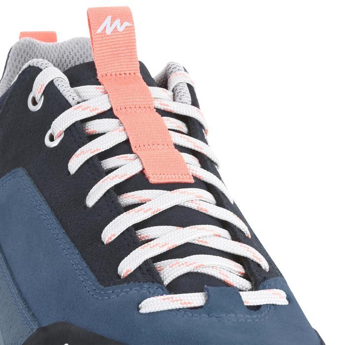 Wandelschoenen voor dames NH500 blauw