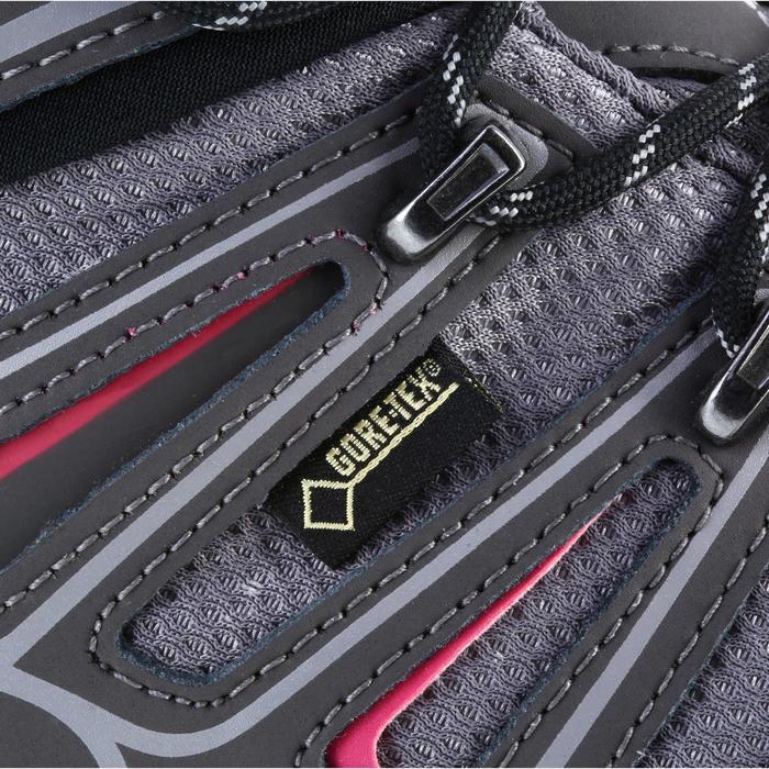 Chaussure de randonnée montagne Femme Salomon X Ultra Mid GTX Gris rose - 1143954