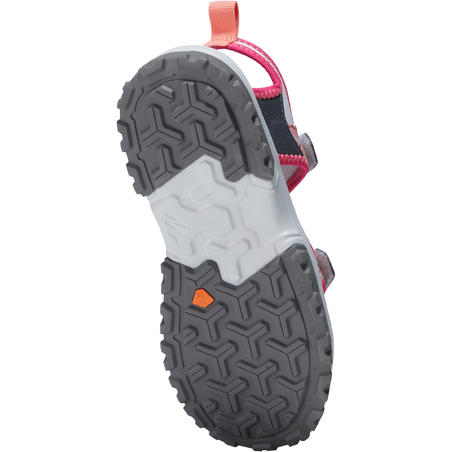 SANDAL HIKING JUNIOR MH120 - PINK