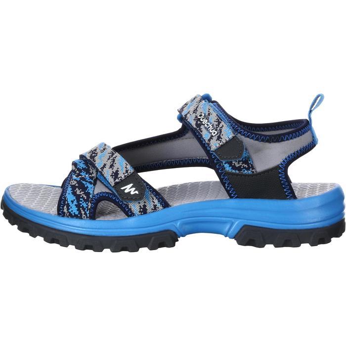 Sandalias de senderismo niños NH500 JR Azul pix