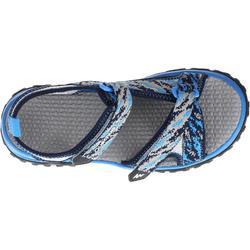 Sandalias de senderismo júnior MH120 JR azul pix
