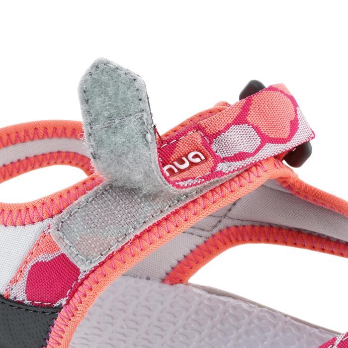 兒童款健行涼鞋MH120-珊瑚紅