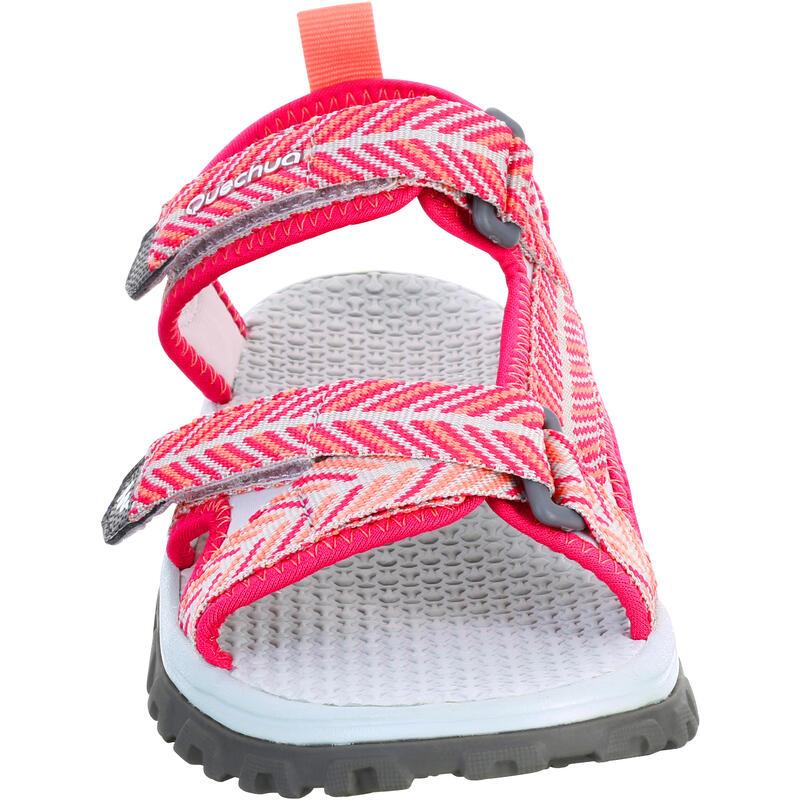 Sandales de randonnée MH120 TW rose - enfant - 28 AU 39