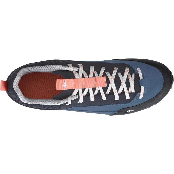 Chaussure de randonnée nature NH500 bleu femme