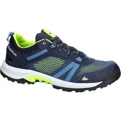 NH500 Fresh 男款自然健行運動鞋 - 藍色黃色