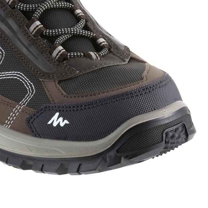 Chaussures de randonnée montagne homme Forclaz 100 Mid imperméable - 1144093