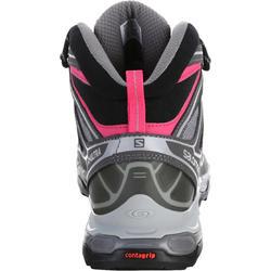 Halfhoge bergschoenen dames Salomon X Ultra GTX grijs/roze - 1144118