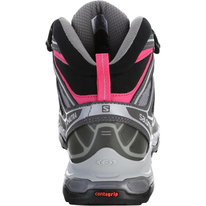 Chaussure de randonnée montagne Femme Salomon X Ultra Mid GTX Gris rose - 1144118