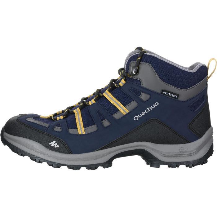 Chaussure Randonnée Quechua Arpenaz 100 Mid Homme Imperméable - 1144130