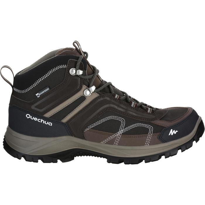 Chaussures de randonnée montagne homme Forclaz 100 Mid imperméable - 1144164
