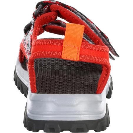 Sandales de randonnée MH120 rouges pix - Enfants