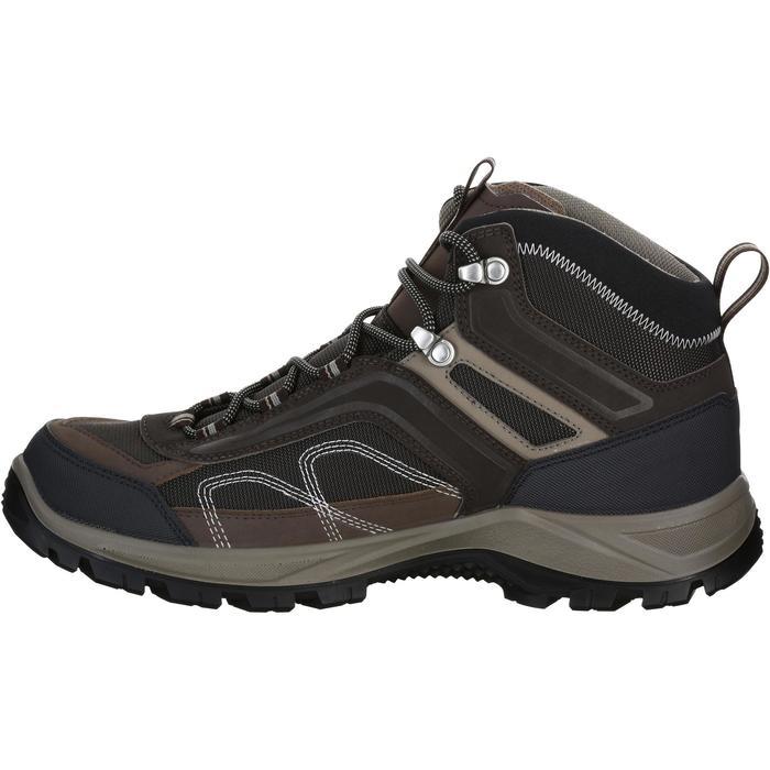 Chaussures de randonnée montagne homme Forclaz 100 Mid imperméable - 1144175