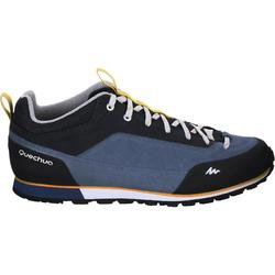 NH500 Men's Country Hiking Boots – Blue/Orange