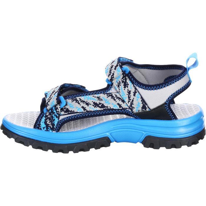 Sandales de randonnée enfant NH500 JR bleu pix