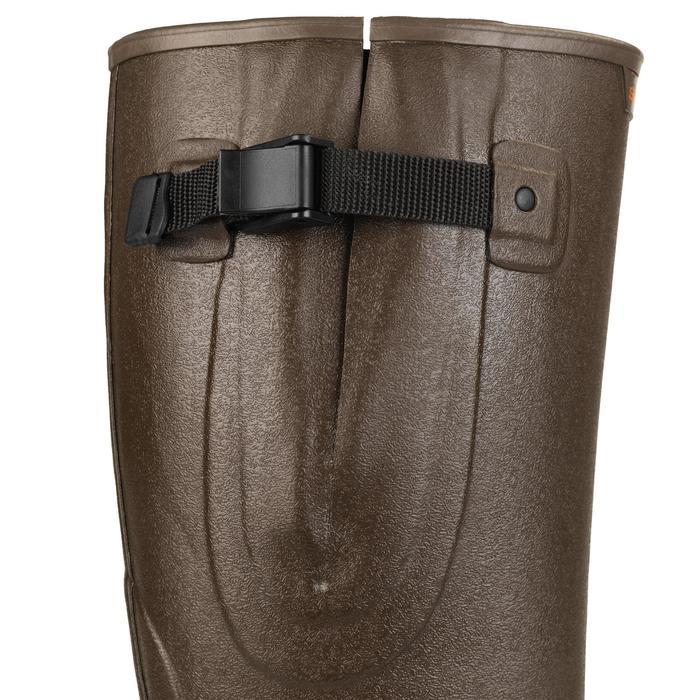 Jachtlaarzen Renfort 520 plooi bruin