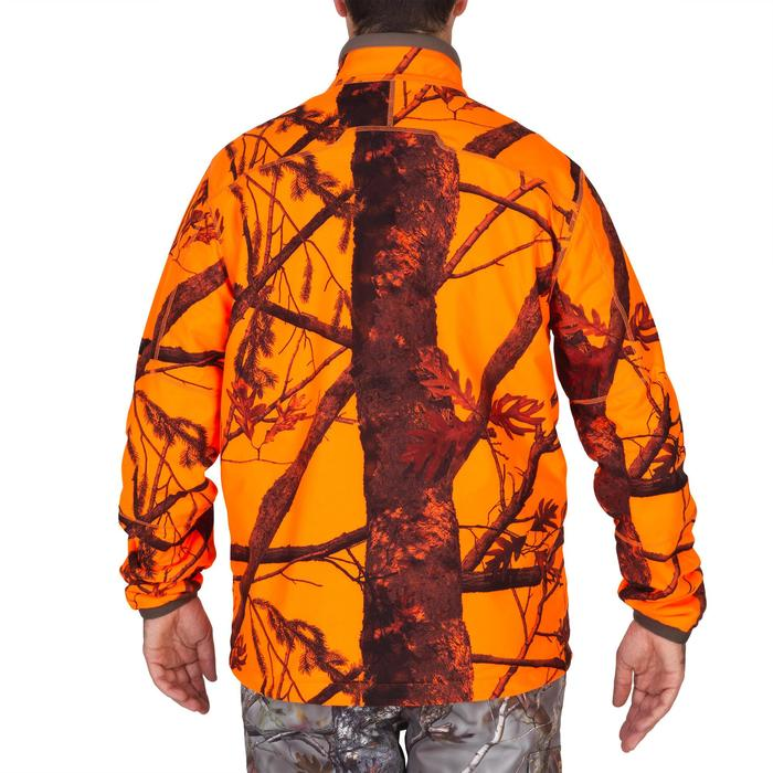 Veste chasse 900 camouflage fluo - 1144229