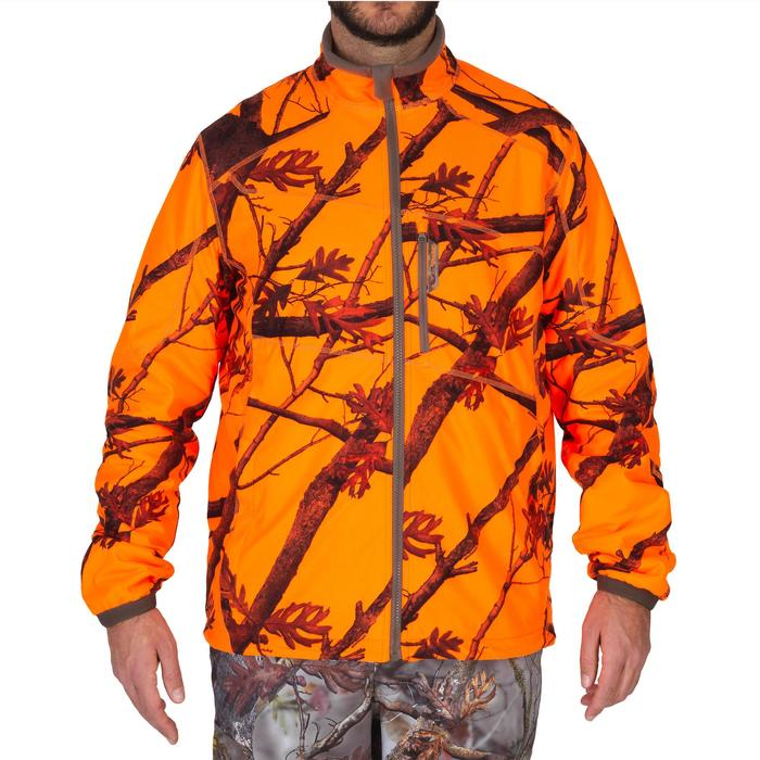 Veste chasse 900 camouflage fluo - 1144230