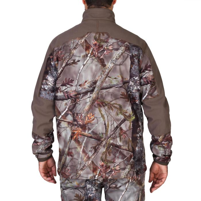 Veste chasse 900 camouflage fluo - 1144232