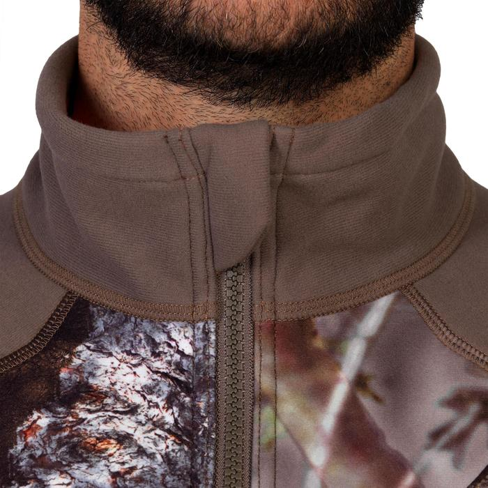 Veste chasse 900 camouflage fluo - 1144234