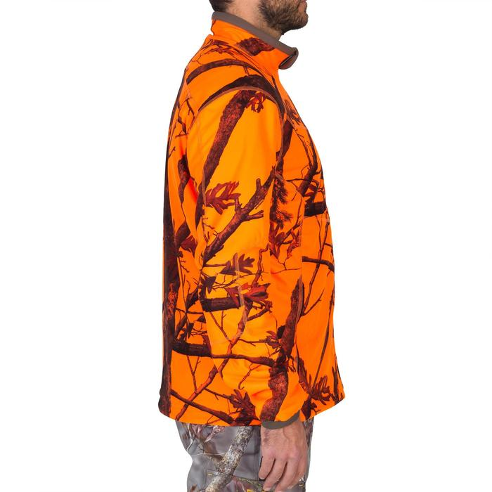 Veste chasse 900 camouflage fluo - 1144235