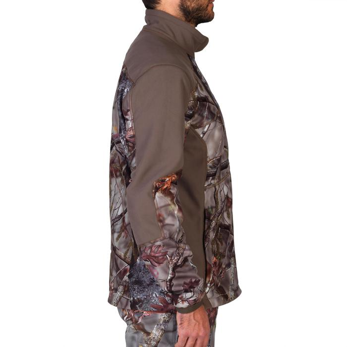 Veste chasse 900 camouflage fluo - 1144238