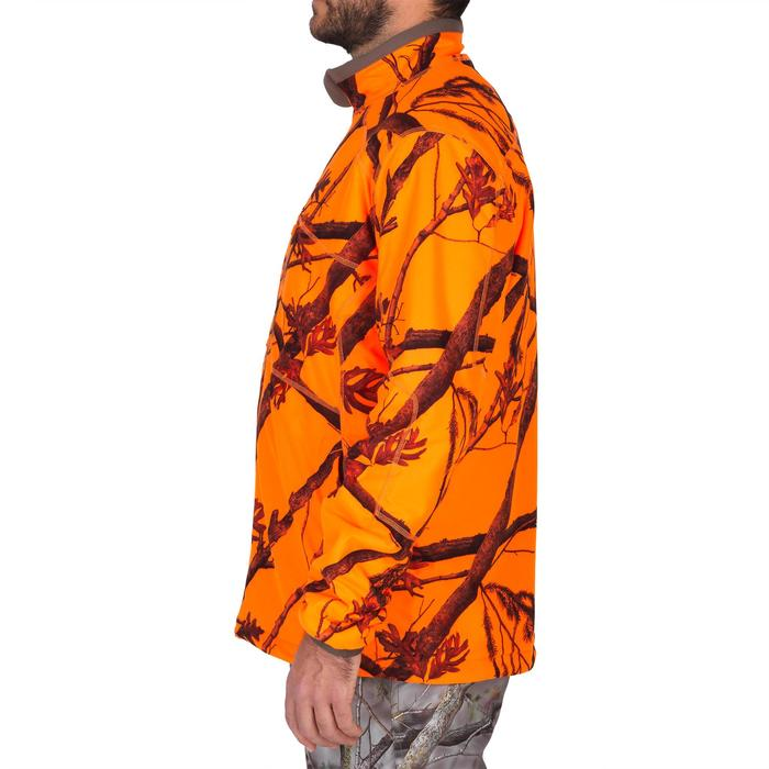Veste chasse 900 camouflage fluo - 1144243