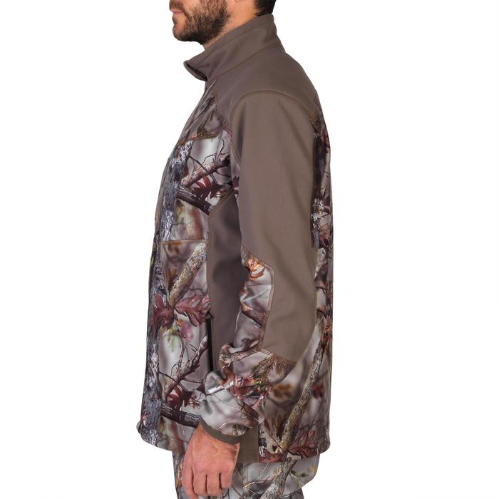 Veste chasse 900 camouflage fluo - 1144249