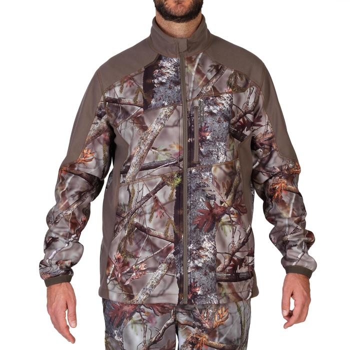 Veste chasse 900 camouflage fluo - 1144250