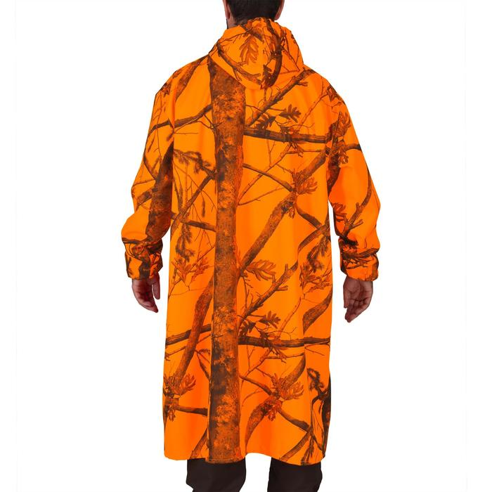 Poncho chasse camouflage fluo