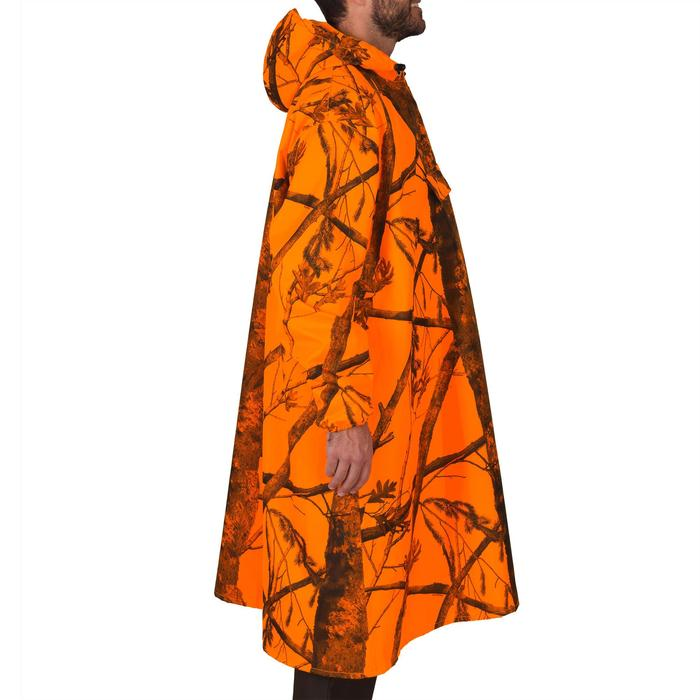 Poncho chasse camouflage fluo - 1144277