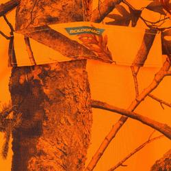 Poncho de caza batida camuflaje fluorescente