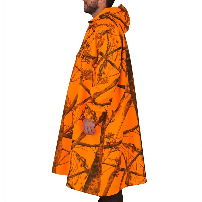 Poncho chasse camouflage fluo - 1144282
