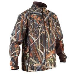Softshell chasse 500 camouflage marais