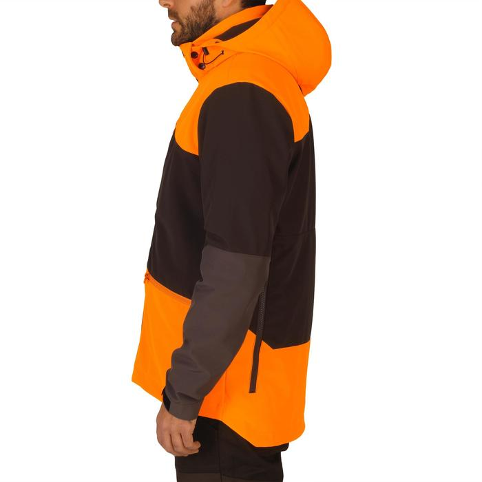 SOFTSHELL chasse 500 FLUO/MARRON - 1144312