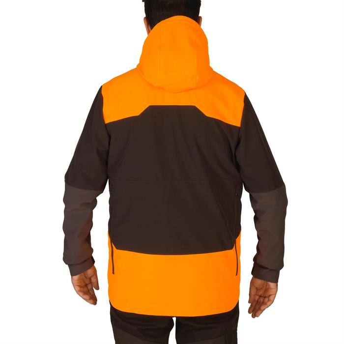 SOFTSHELL chasse 500 FLUO/MARRON - 1144315