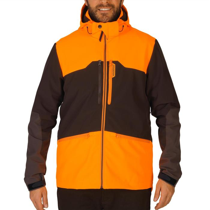 SOFTSHELL chasse 500 FLUO/MARRON - 1144324