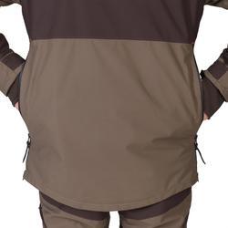 Chaqueta Caza Solognac Sgt 500 Vareuse Impermeable Reforzada Marron