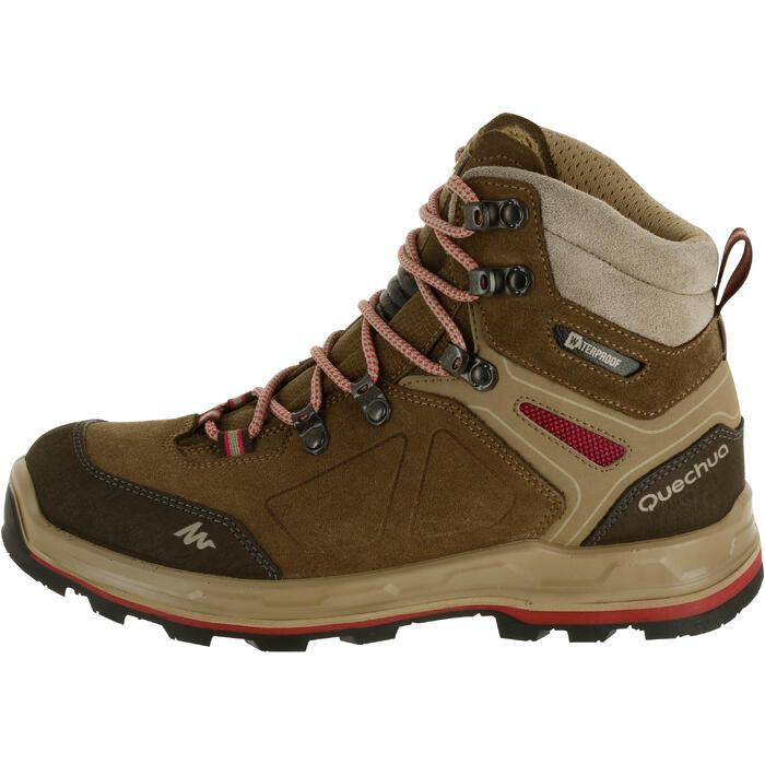 Chaussures de trekking montagne TREK100 femme