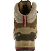 حذاء Trek 100 برقبة للسيدات للمشي لمسافات طويلة