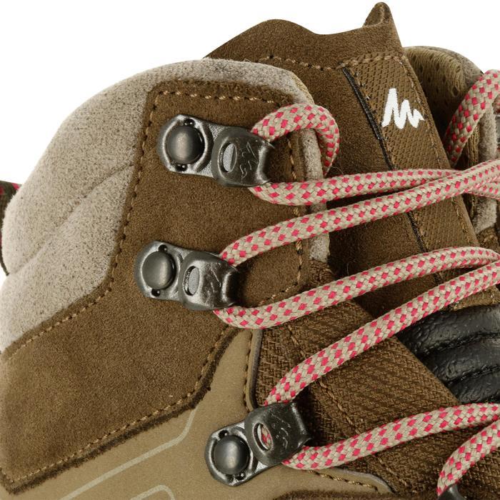 Damesschoenen voor bergtrekking Trek 100