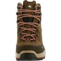 """Moteriški vandeniui atsparūs žygio batai """"Trek 100"""", rudi"""