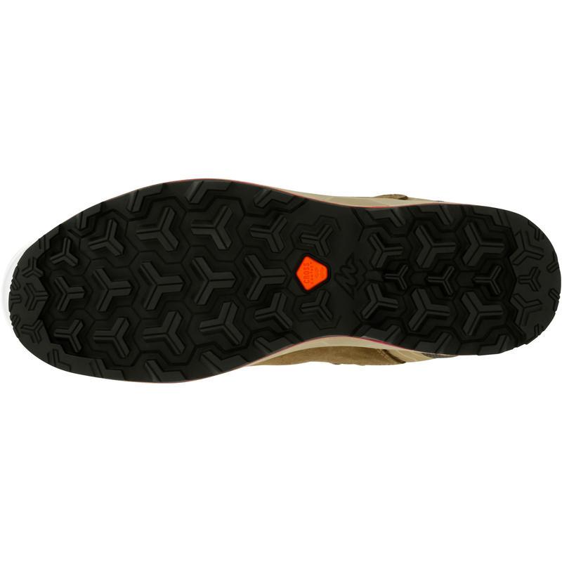High top shoe - leather - waterproof - crosscontact -ONTRAIL MT- women's