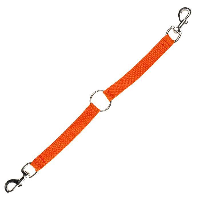 Koppellijn voor 2 jachthonden rood - 1144731