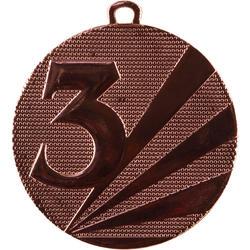 Medaille nr. 3 - 50 mm brons